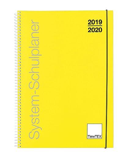 TimeTex 10450 - Agenda escolar con anillas, A4, año escolar 2019 ...