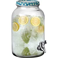 FEELINGS GLASS JUICE DISPENSER WITH TAP - 3250ml
