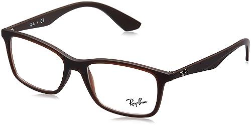 c4e4fcf8fe1bf Amazon.com  Ray-Ban RX7047 Eyeglasses  Clothing
