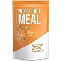 Runtime Next Level Meal - vollwertiger Mahlzeitersatz für langanhaltende Sättigung, Energie, Konzentration und Leistungsfähigkeit, mit Vitaminen und Nährstoffen, 1 Portion (150g) (Mango)