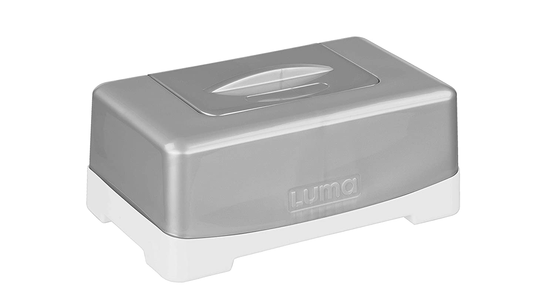 Luma Babycare l22906/Bo/îte /à lingettes nettoyantes Sparkling Silver argent