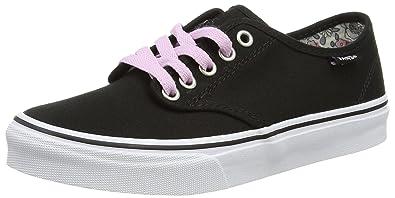 10a2b37c23 Vans Women s Camden Stripe Low-Top Sneakers  Amazon.co.uk  Shoes   Bags