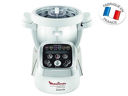 Moulinex Hf802aa1 Robot Cuiseur Multifonction Companion 6 Programmes Automatiques 5 Accessoires Inclus Capacite Jusqu A 6 Personnes 1 Million De
