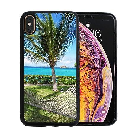 Hamaca Luna de miel Vacaciones entre palmeras Apple teléfono ...