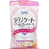 ソフィ デリケートウェットシート フローラルの香り 12枚入り 【4点セット】