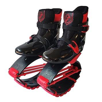Sauter Chaussures Kangourou Espace Fitness Bounce Anti,Gravité Course en  Plein Air pour Enfants Adultes