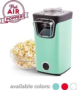 DASH DAPP155GBAQ06 Turbo POP Popcorn Maker, 8 Cups, Aqua