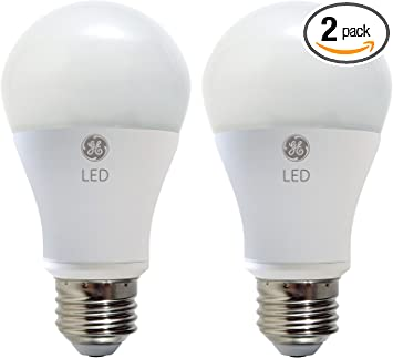 60-watt Replacement 98877 GE Lighting Reveal HD LED 9-watt 650-Lumen A19 Light Bulb with Medium Base 2-Pack