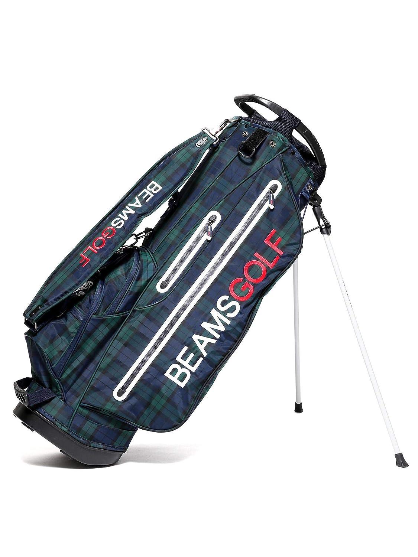 (ビームスゴルフ)BEAMS GOLF/ショルダーバッグ/NEW スタンド キャディバッグ ブラックウォッチ ユニセックス One Size B/W B07NQVRS57