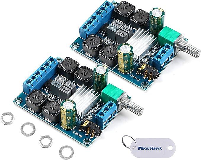 Innovateking Eu 2 Stücke Tpa3116d2 Digital Verstärker Computer Zubehör