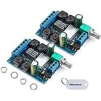 Innovateking-EU 2 Unids Tablero del Amplificador Digital, TPA3116D2 Estéreo de Dos Canales de Alta Potencia Subwoofer…