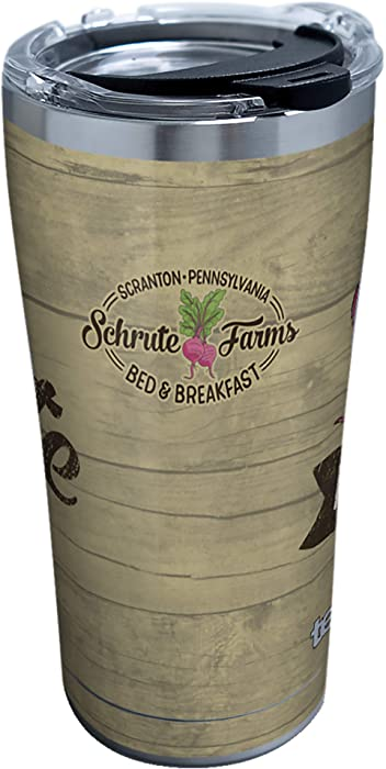 Tervis The Office-Schrute Farms Insulated Tumbler, 20oz, Stainless Steel