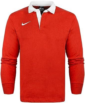 Logotipo de Nike bordado Polo de manga corta de manga larga y ...