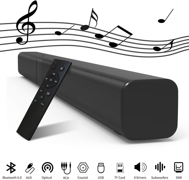 Speakers Soundbar Speakers Wired & Wireless Bluetooth 5.0 Speaker ...