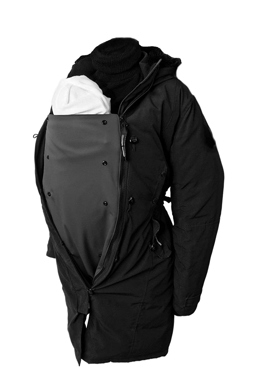 2ab8500da Amazon.com   BellyFit Panel - (Black) - Zip-in Jacket Extender for ...