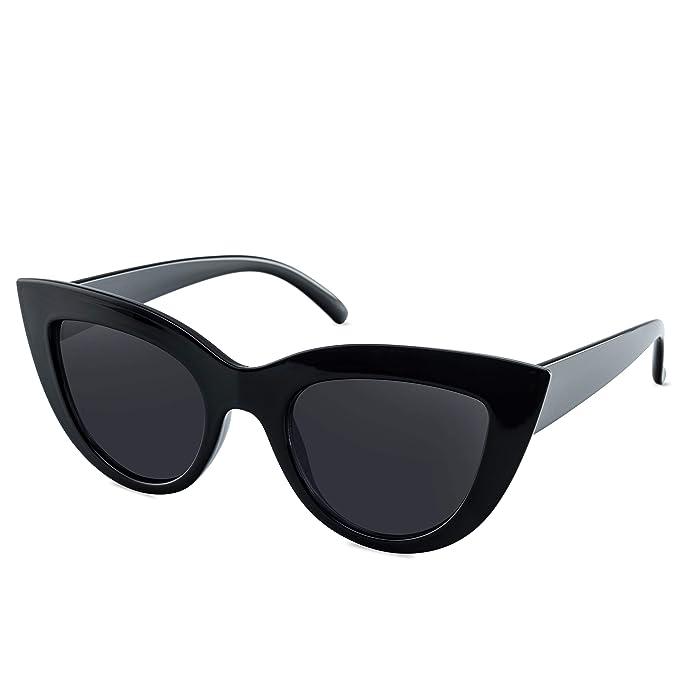 Amazon.com: Gafas de sol para mujer estilo vintage con ...