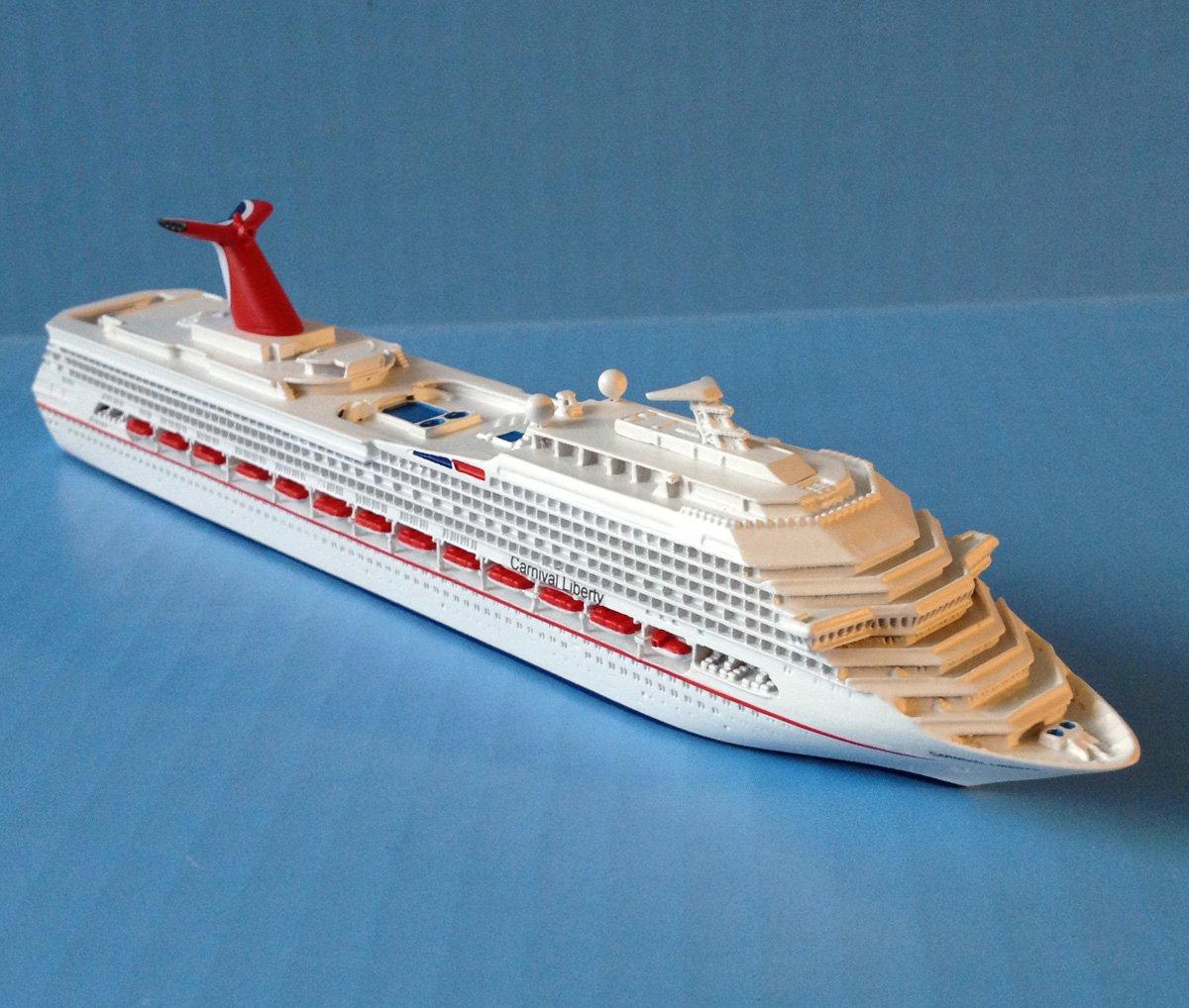 Amazoncom CARNIVAL LIBERTY Cruise Ship Model In Scale - Remote control cruise ship