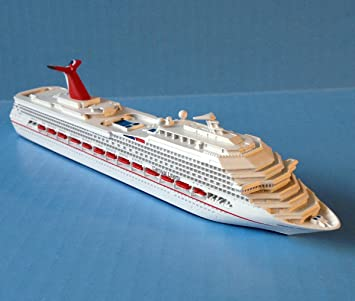 Amazoncom CARNIVAL LIBERTY Cruise Ship Model In Scale - Toy cruise ship