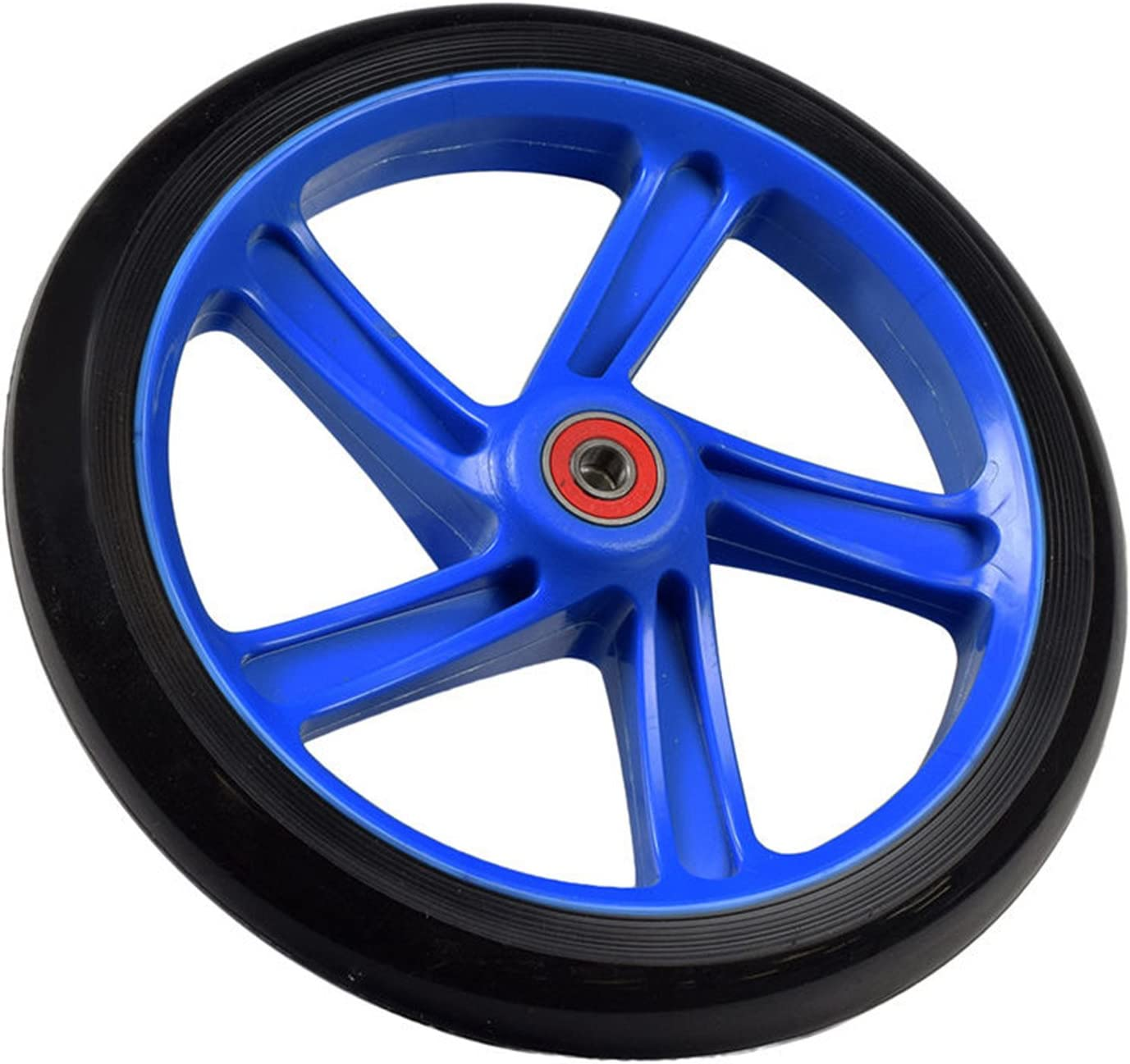 2x BLUE 100mm Replacement Wheels ABEC-7 Bearings for Razor Pro Kick Scooter