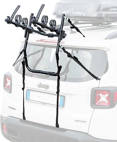 DIE Universal Fahrradträger mit Gurten für 3Räder max.45kg Heckträger Träger Neu