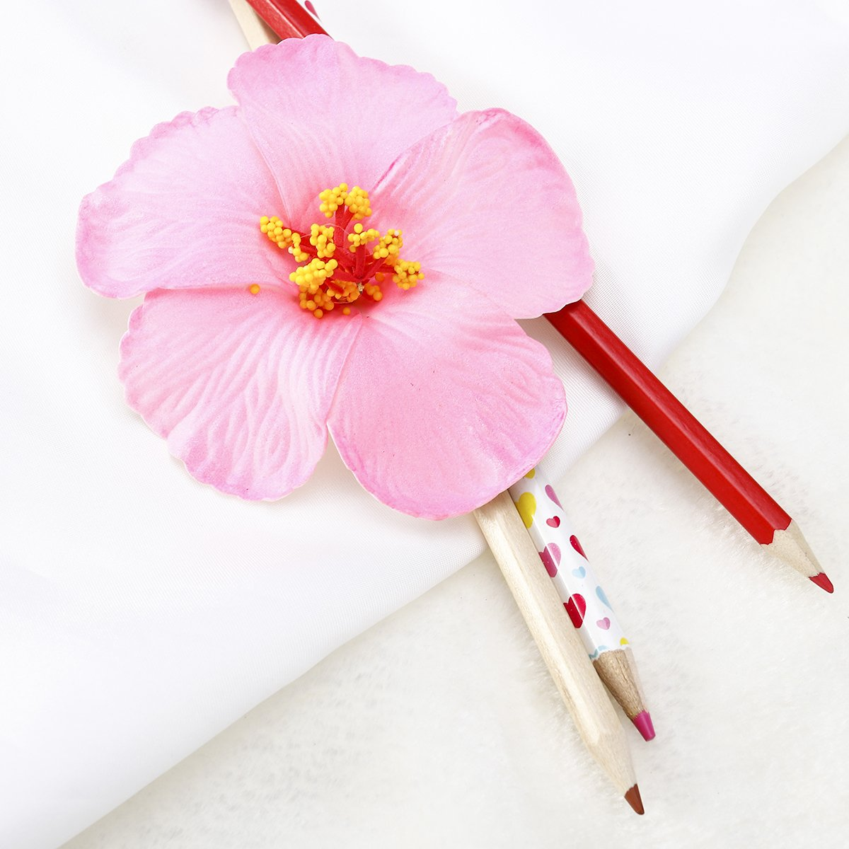Amazon Tinksky 1 Pc Hibiscus Flowers Hawaiian Flowers