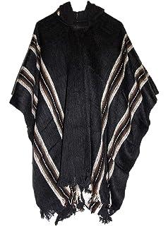 Équitable Poncho Woollen La Laine De Mens Cape Alpaga Commerce wkiTuPOXZ
