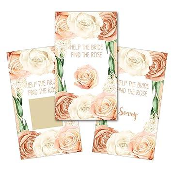 Amazon Personalized Bridal Shower Wedding Reception Scratch Off