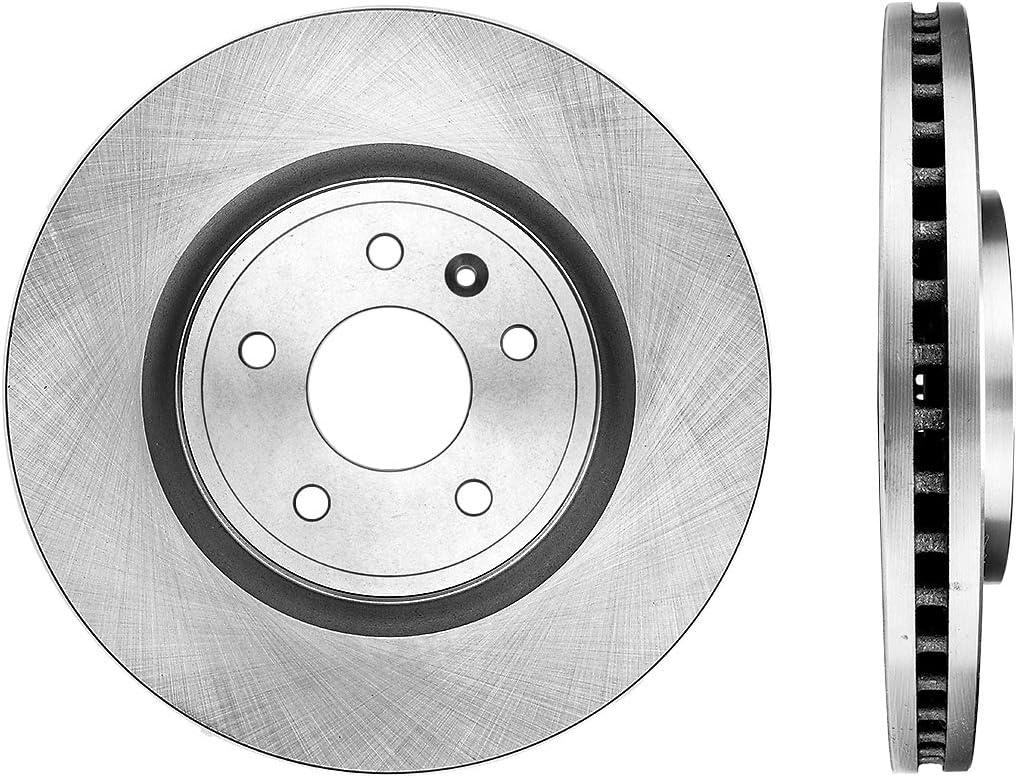 2 Rotors Set CRK14615 FRONT Premium Grade OE 331.6 mm