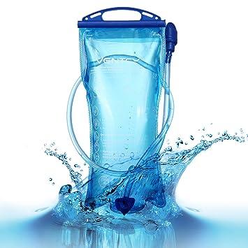 VENTCY Bolsas de Agua para Mochilas Portátil de 2 Litro ...