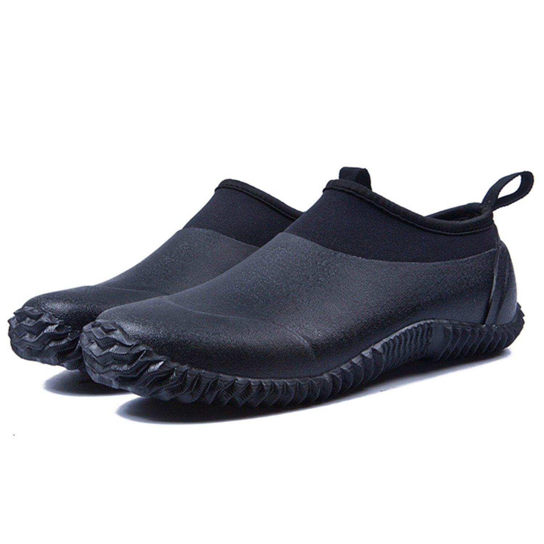 JOINFREE Herren Damen Rutschfeste Regen Schnee Stiefel Wasserdichte Wasserdichte Wasserdichte Kurze Knöchel Schuhe Auto Waschen Schuhwerk B07DFG5F7D Sport- & Outdoorschuhe ein guter Ruf in der Welt 31f4a6