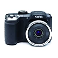 Kodak AZ252 Astro Zoom Bridge Camera - Black (16 MP, 25x Optical Zoom) 3-Inch LCD Screen