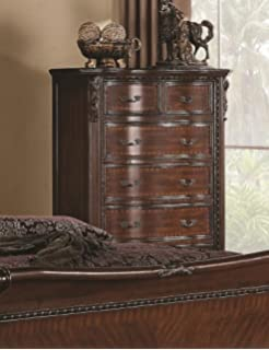Coaster Home Furnishings 202265 Traditional Chest, Brown And Cherry