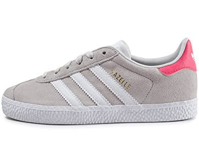 low priced 72203 5f3b4 adidas Gazelle C, Chaussures de Fitness Mixte Enfant, Gris (Griuno Ftwbla