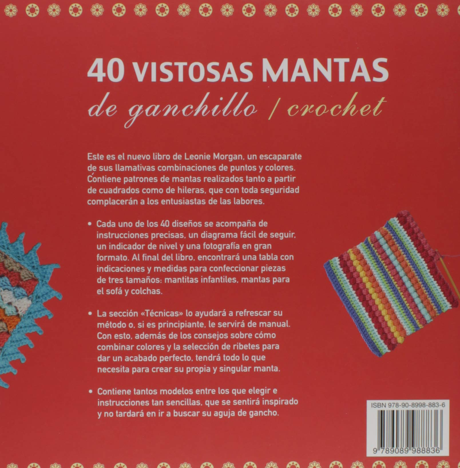 40 VISTOSAS MANTAS DE GANCHILLO/CROCHET: LEONIE MORGAN: 9789089988836: Amazon.com: Books