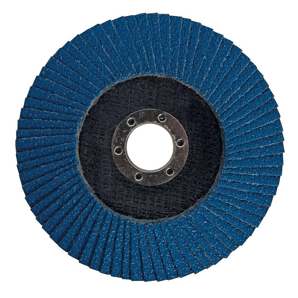 Silverline 282588 40 Grit Zirconium Flap Disc, 125 mm SLTL4