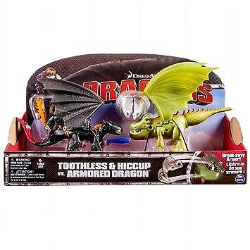 Drachen Ohnezahn und Drachenreiter Hicks Action Spiel Set Dragons
