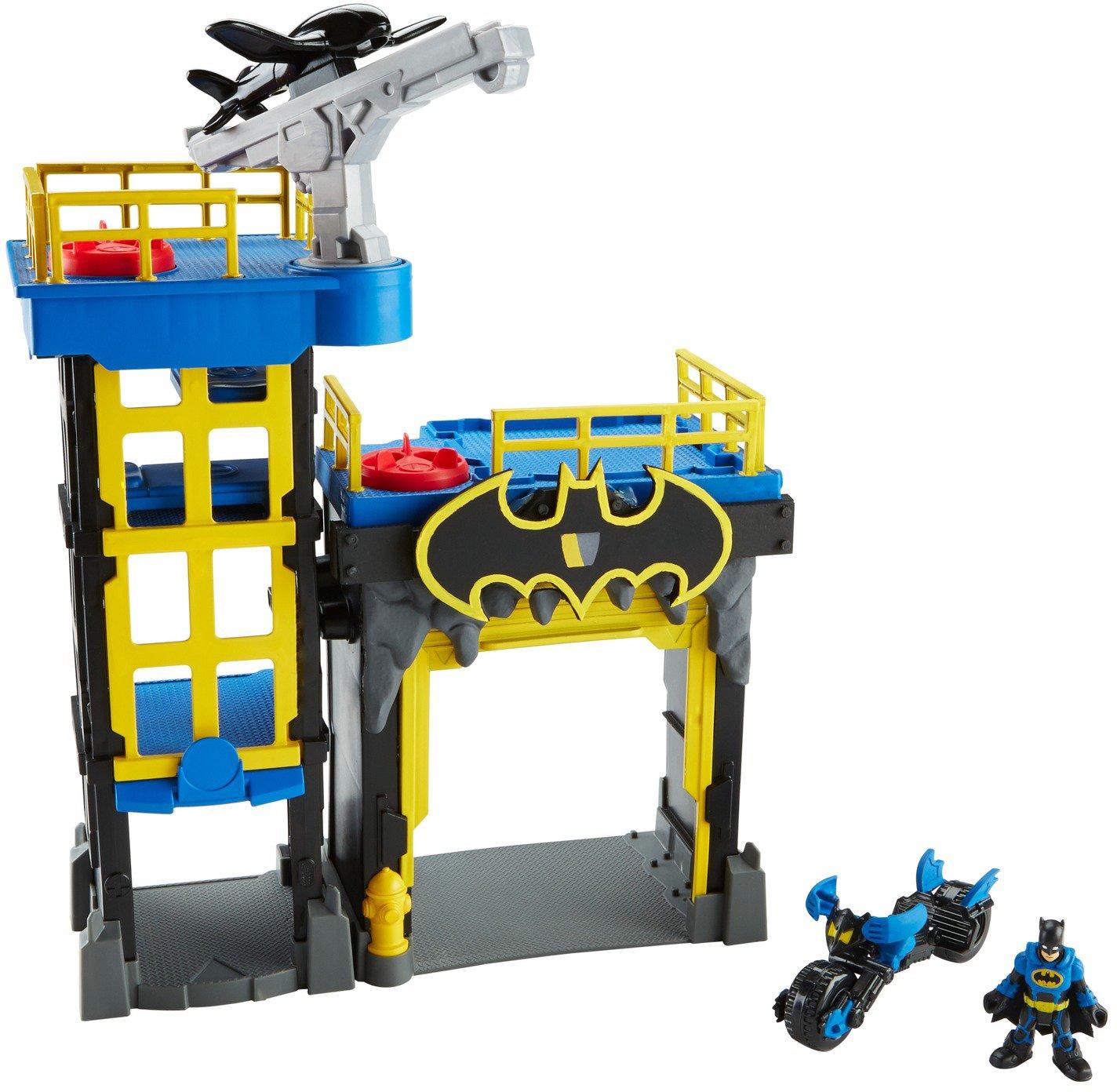 Fisher Price DC Super Friends Batman Imaginext Gotham City Tower Playset by DC Comics