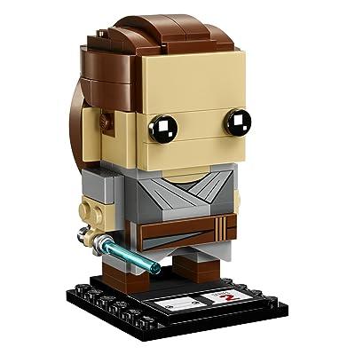 LEGO BrickHeadz Rey 41602 Building Kit (119 Piece): Toys & Games