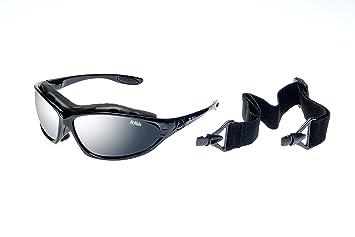Ravs Sportbrille mit Band und Bügel - Fahrraddbrille Radbrille Kitesurfing Sonnenbrille KIrRNq