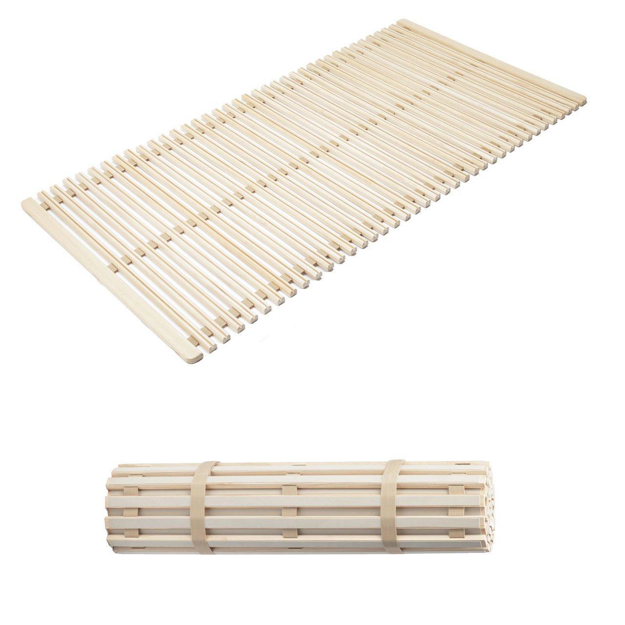みやび格子 すのこマット すのこベッド 省スペース 除湿 調湿 防カビ 結露防止 シングル (100×200cm) すのこベッド (アシスト機能付き) B0765LY5T2 アシスト機能付き  アシスト機能付き