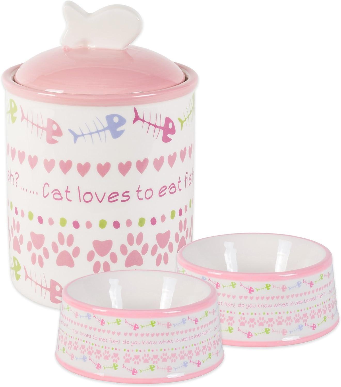 Bone Dry DII Ceramic Pet Food & Water Bowls 5