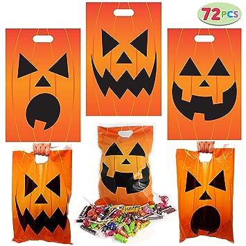 JOYIN 72PCS Bolsas de Golosinas de Halloween Bolsas de ...