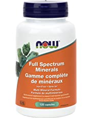 NOW Full Spectrum Minerals, 120 Count
