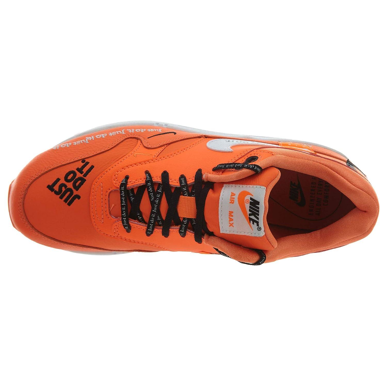 Nike Damen W Air Max 1 Orange/Weiß/schwarz Lx Gymnastikschuhe Mehrfarbig (Total Orange/Weiß/schwarz 1 800) d3786c