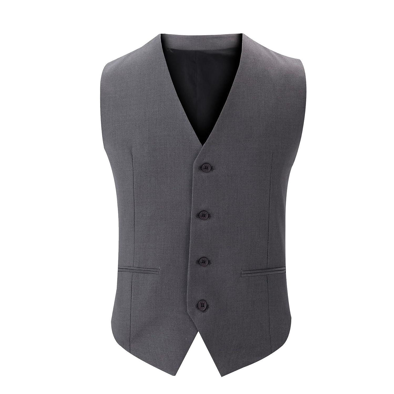 Männer - Anzug, Weste, männer - Anzug, Weste, Jugend, britische Anzug, Weste,Grau,175   l