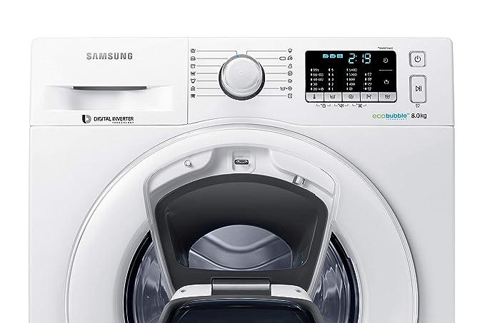 SAMSUNG WW80K5400WW/EG: Amazon.es: Electrónica