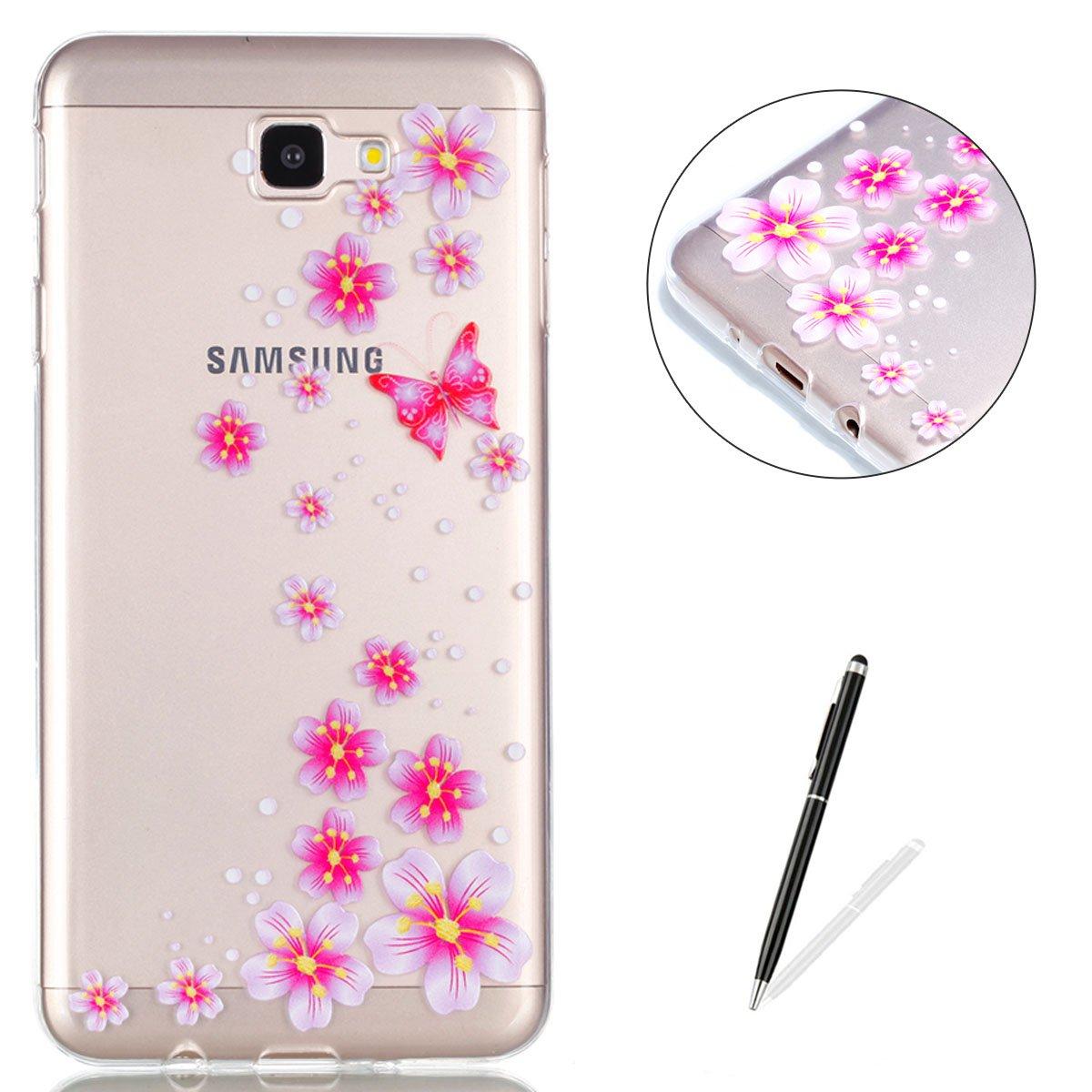 f8af6dffc3e outlet Samsung Galaxy J7 Prime Cristal Claro Funda KaseHom Pintura del arte  Espalda TPU Premium y