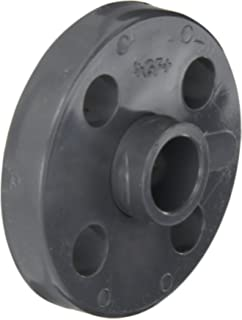 Spears 852 Series PVC Pipe Fitting 1//2 NPT Female One Piece Flange Class 150 Schedule 80