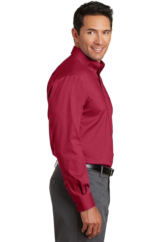 Deep Red Red House Mens Nailhead Non-Iron Button-Down Shirt 2XL