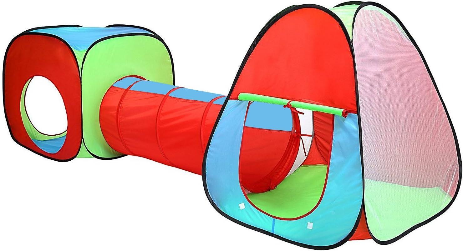 Set de Tienda y túnel de Juego para niños - Fácil de Montar - En ...
